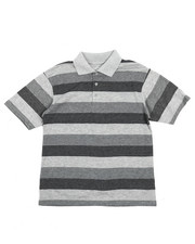 Boys - Stripe Polo Shirt (8-20)-2227856
