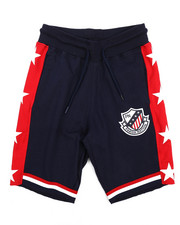 Boys - Knit Shorts w/Graphic Print (8-20)-2228561