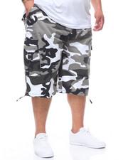 Big & Tall - Cargo Shorts w/ Belt (B&T)-2226688