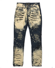 Boys - Tinted Rip & Repair Jeans (8-20)-2227844