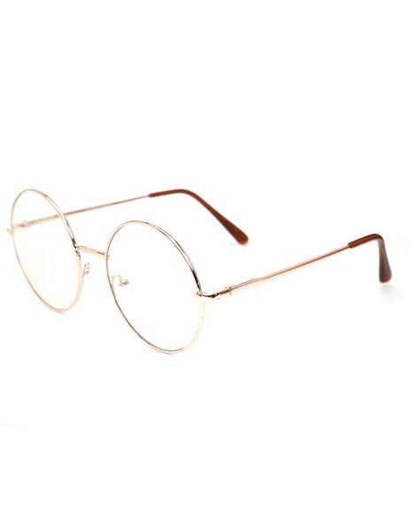 DRJ Sunglasses Shoppe - Round Clear Sunglasses