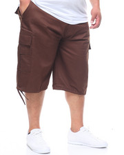 Buyers Picks - Twill Belted Cargo Shorts (B&T)-2226697