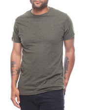 Shirts - Perforated Distressed Tee-2229167