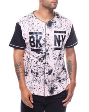 Jerseys - Splatter Baseball Jersey-2229095