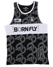 Boys - Fly United Jersey Basketball Tank Top (8-20)-2228997