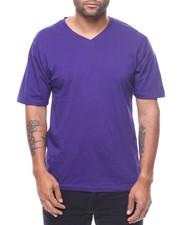 Shirts - Slim Fit V-Neck Tee-2229178