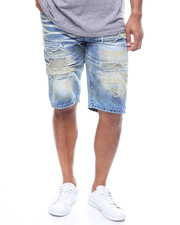 Rocawear - PAN HEAD DESTRUCTED JEAN SHORT-2229237