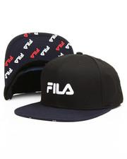 Fila - Contrast Flat Brim Snapback Hat-2167191