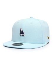 Black Label 9Fifty Los Angeles Dodgers Micro Stitch Strapback Hat