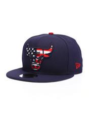 NBA, MLB, NFL Gear - 9Fifty Chicago Bulls Flag Fill Snapback Hat-2229831