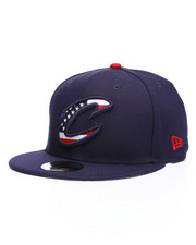 NBA, MLB, NFL Gear - 9Fifty Cleveland Cavaliers Flag Fill Snapback Hat-2229834