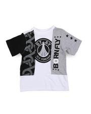 Boys - Fly United Chopped Tee  (2T-4T)-2229528