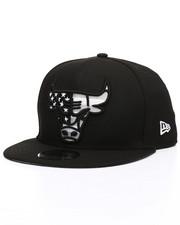 NBA, MLB, NFL Gear - 9Fifty Chicago Bulls Flag Fill Snapback Hat-2229830