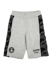 Boys - Fly United Pieced Loopback Shorts (8-20)-2229519