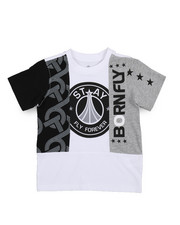 Boys - Fly United Chopped Tee (4-7)-2229532