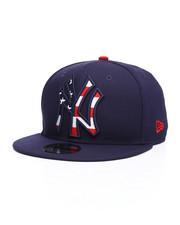NBA, MLB, NFL Gear - 9Fifty NY Yankees Flag Fill Snapback Hat-2229833
