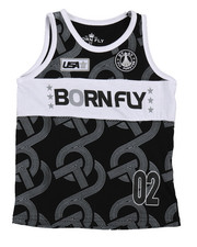 Boys - Fly United Jersey Basketball Tank Top  (2T-4T)-2229524