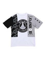 Boys - Fly United Chopped Tee (8-20)-2229537