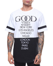 Flysociety - S/S Good Vibes Tee-2230018