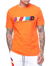 T-Shirts - Pyramid World Wide Chenille Tee-2230034