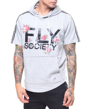 Flysociety - S/S Fly Floral Print Hoodie-2229994