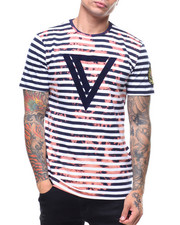 Stylist Picks - BLEACHED STRIPPED TEE-2230028