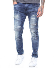 SMOKE RISE - COLOR RIP JEAN-2230342