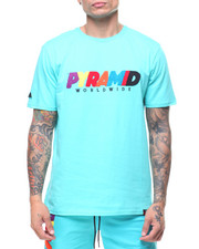 T-Shirts - Pyramid World Wide Chenille Tee-2229542