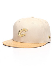 New Era - Black Label 9Fifty Cleveland Cavaliers Gold Badge Strapback Hat-2229846
