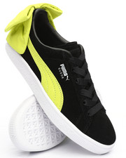 Footwear - Suede Bow Block Sneakers-2230554