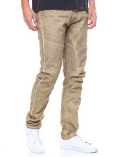 Pants - Enzyme Wash Arc Leg Twill Pant-2230801
