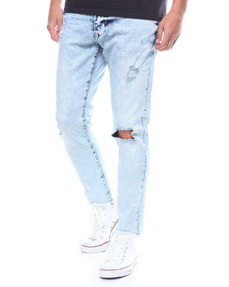 Buyers Picks - ICE WASH DISTRESSED JEAN