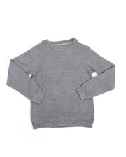 Arcade Styles - Textured Crew Sweatshirt (8-20)-2230733