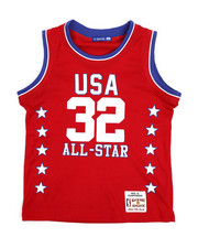 Boys - Basketball Mesh Jersey Tank Top (8-20)-2230641
