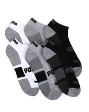 DRJ SOCK SHOP - Puma 6 Pack Terry Low Cut Socks-2230679