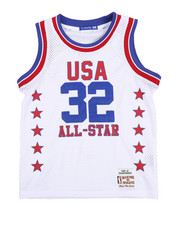 Arcade Styles - Basketball Mesh Jersey Tank Top (8-20)-2230625