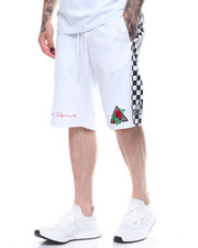 Black Pyramid - Rose and Pyramid Logo Shorts-2231280
