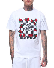 Black Pyramid - Rose and Checkers Tee-2231181