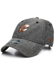 Hats - Black Label 9Twenty Cleveland Cavaliers Badged Strapback Hat-2230430