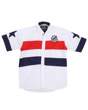 Sizes 4-7x - Kids - Color Block Woven Shirt (4-7)-2231169