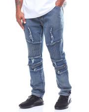Jeans - Fashion Cut & Sew Moto Jeans (B&T)-2226749