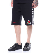 Black Pyramid - Rose and Pyramid Logo Shorts-2231291