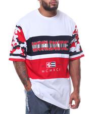 Short-Sleeve - Cut & Sewn Camo Sleeves Tee (B&T)-2229401