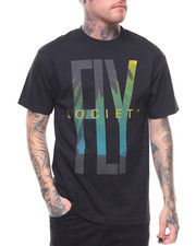 Flysociety - S/S Fly Printed Tee-2231275
