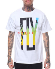 Flysociety - S/S Fly Printed Tee-2231286