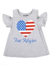 True Religion - Cold Shoulder Tee (7-16)-2231458