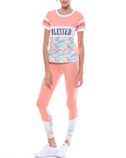 "Sets - Set: ""Blessed"" Baby Tee & Legging-2226841"