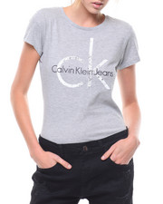 Calvin Klein - Heritage Logo Splatter CK Tee-2231370