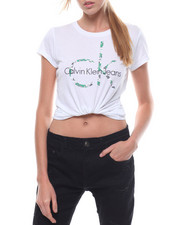 Athleisure for Women - S/S Heritage Floral Logo Tee-2231358
