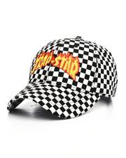 TOP CULTURE - Checkered Strapback Hat-2231624